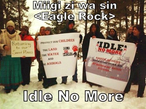 Idle No More at Eagle Rock